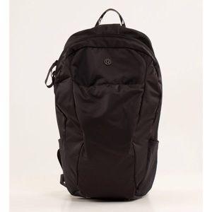 Lululemon Run From Work Backpack II Black NWOT